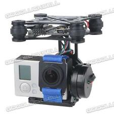 2-Axis Brushless Gimbal Camera Mount w/ 32bit Storm32 Controller for Gopro 3 4 l