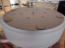 Vibes Audio Turntable Vinyl Record Platter Cork Mat