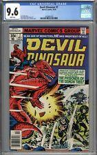 Devil Dinosaur #7 CGC 9.6 NM+ WHITE PAGES
