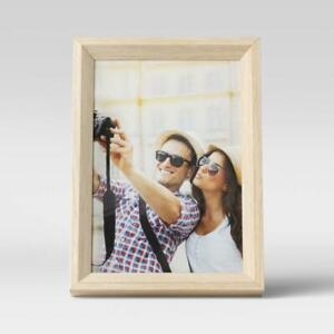 """5"""" x 7"""" Wedge Picture Frame Natural - Room Essentials"""