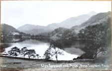 Wales, Uk 1915 Realphoto Postcard: Llyn Gwynant Pass & Aran - United Kingdom
