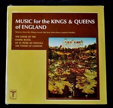 CHAPEL ROYAL CHOIR OF ST. PETER AD VINCULA MUSIC FOR KINGS AND QUEENS SEALED LP