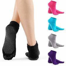 Yoga Socks with Non-Slip Pilates Massage 5 toe Socks Dance Gym Sports Fitness