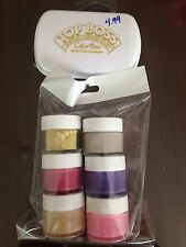 Scents 6 Embossing Powder Set Plus Embossing Stamp Pad