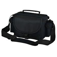 AAU Black DSLR Camera Case Bag and Lens Canon EOS 1200D 60D 60Da 1100D 1000D