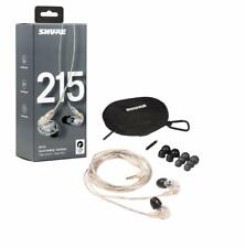 Shure Se215 Clear Earphones Sound Isolating