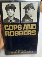 COPS AND ROBBERS - FIRST EDITION SIGNED BY DONALD E. WESTLAKE   GREAT CONDITION