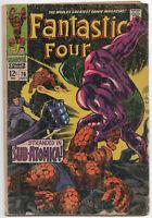 Fantastic Four 76 Marvel 1968 VG Silver Surfer Galactus Jack Kirby Stan Lee