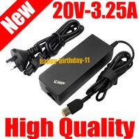 20V AC Adapter Laptop Charger for Lenovo Thinkpad Yoga 11e ADLX45NL3A ADL135NLC3