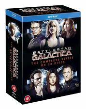 BATTLESTAR GALACTICA [Blu-ray] The Complete TV Series Box Set Collection w Razor