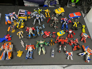 Transformers Lot Animated Classics Universe ROTF DOTM Figures Starscream More!