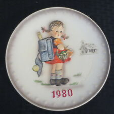 Goebel Hummel Annual Plate 1980 School Girl