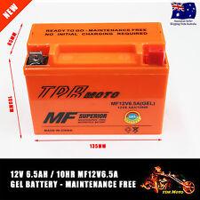High Quality 12v 6.5a GEL Battery Dirt Bike Quad ATV 50/70/90/110/125/140/150CC