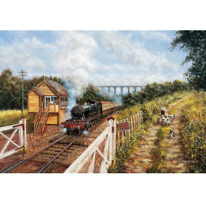 JHG Leaving Coombe Junction, Cornwall 1000 piece jigsaw puzzle