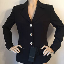 NEW ESCADA SIZE 38 US 8 WOMENS  SUIT JACKET BLACK