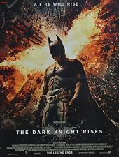 THE DARK KNIGHT RISES - A2 Poster (XL - 42 x 55 cm) - Batman Film Clippings NEU