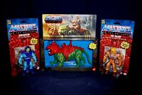 MASTERS OF THE UNIVERSE RETRO HE-MAN BATTLE CAT SKELETOR  ACTION FIGURES 2020