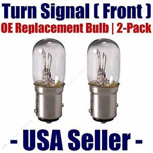 Front Turn Signal/Blinker Light Bulb 2pk - Fits Listed Honda Vehicles - 3496