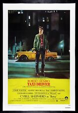 TAXI DRIVER ✯ CineMasterpieces ORIGINAL MOVIE POSTER AUTOGRAPH SCORSESE TO BRUCE