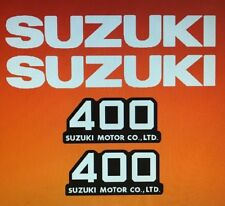 SUZUKI TS400 DECAL SET