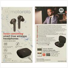 New Oem Motorola Noise Cancelling Smart True Wireless Headphones Verve Buds 800
