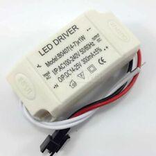 2x 4-7W Power Supply Driver For LED Light Lamp Bulb 300mA 100-240V AC to 14-25V