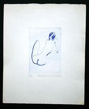 Frantisek Kratochvil, erot. Siderographie, Frauenakt 1977, limit.+signiert