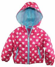 PINK Polyester Jackets (Newborn - 5T) for Girls
