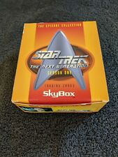 Star Trek The Next Generation Season 1 Skybox Trading Cards Whole Box (Ln)
