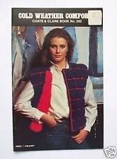 Vintage Coats & Clark #292 Knitting Crocheting Book New
