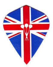 Amerithon - The Best Dart Flights - 1 British Flag & Darts Kite Shape Sets