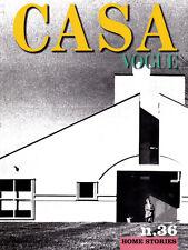 CASA VOGUE #36 JIM VENTURI Ricardo Bofill PAOLA ANTONELLI Remo Brindisi @NEW@