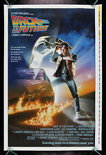 BACK TO THE FUTURE * CineMasterpieces ADVANCE PRINTERS PROOF MOVIE POSTER 1985