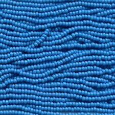 Czech Seed Beads 11/0 Opaque Turquoise Blue 31063 (6 strand hank) Glass