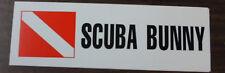 Scuba Diving Bumper Sticker Decal Scuba Bunny DS37