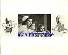 "Walt Disney Christmas Show ""Convalescing Youngsters & Nurse"" Photo CBS-TV 1951"