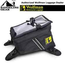 Wolfman Luggage Enduro Tank Bag (2017 Model) Motorcycle DRZ, KTM, YZF, WR, CRF +