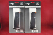 2 Pack Glock Gen5 G5 Glock 19 G19 9MM 10 Round 10Rd Mags Magazines Clips 47289