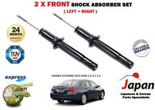FOR HONDA ACCORD 2003-2008 2 X FRONT LEFT+ RIGHT SHOCK ABSORBER SHOCKERS SET KIT