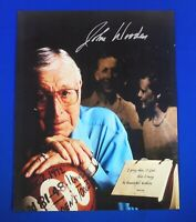 JOHN WOODEN deceased 2010 autograph signed auto  8x10 photo UCLA