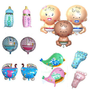 Baby Shower Foil Christening Balloons Decoration​ Kids' Party Supply Gift