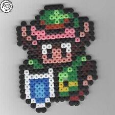 Link (Zelda) - Bead sprite perler pixel art - Perles à repasser