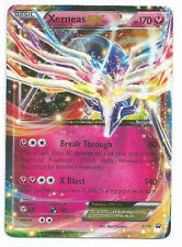 Pokemon Card EX Xerneas EX XY07 Holofoil Ultra Rare Promo Card + Hard Sleeve