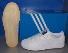 MENS ADIDAS SUPERSTAR II in colors FTW WHITE / FTW WHITE / FTW WHITE SIZE 10.5
