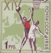 Soviet Union 3130 (complete issue) fine used / cancelled 1965 Basketball-europea