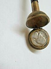 Antique Nickel Holder Gadget Cane