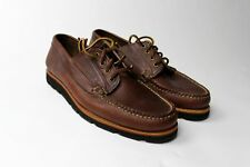 BRAND NEW - Rancourt Ranger Moc Brown Chromexcel -10D-MSRP $305