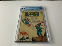 ACTION COMICS 258 CGC 6.5 WHITE PS SUPERGIRL LEARNS SUPERMANS ID KRYPTO DC COMIC