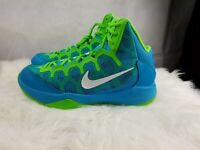 Mens Blue NIKE ZOOM WITHOUT A DOUBT Basketball Sneakers Shoes Sz 10