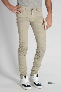 DIESEL uomo Jeans BLACK GOLD Jeans TYPE-2614 in Denim 16 cm  Grigio